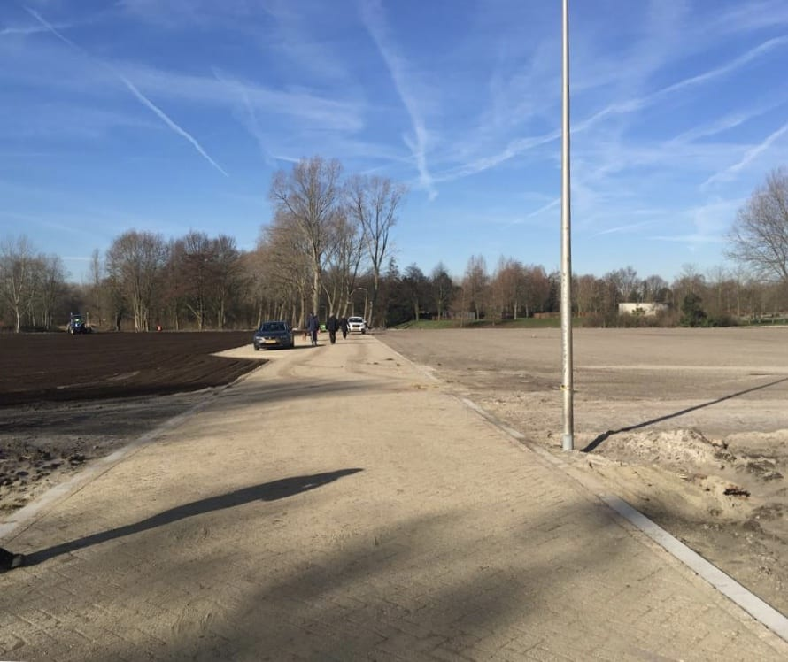 Renovatie evenemententerrein Alphen aan den Rijn