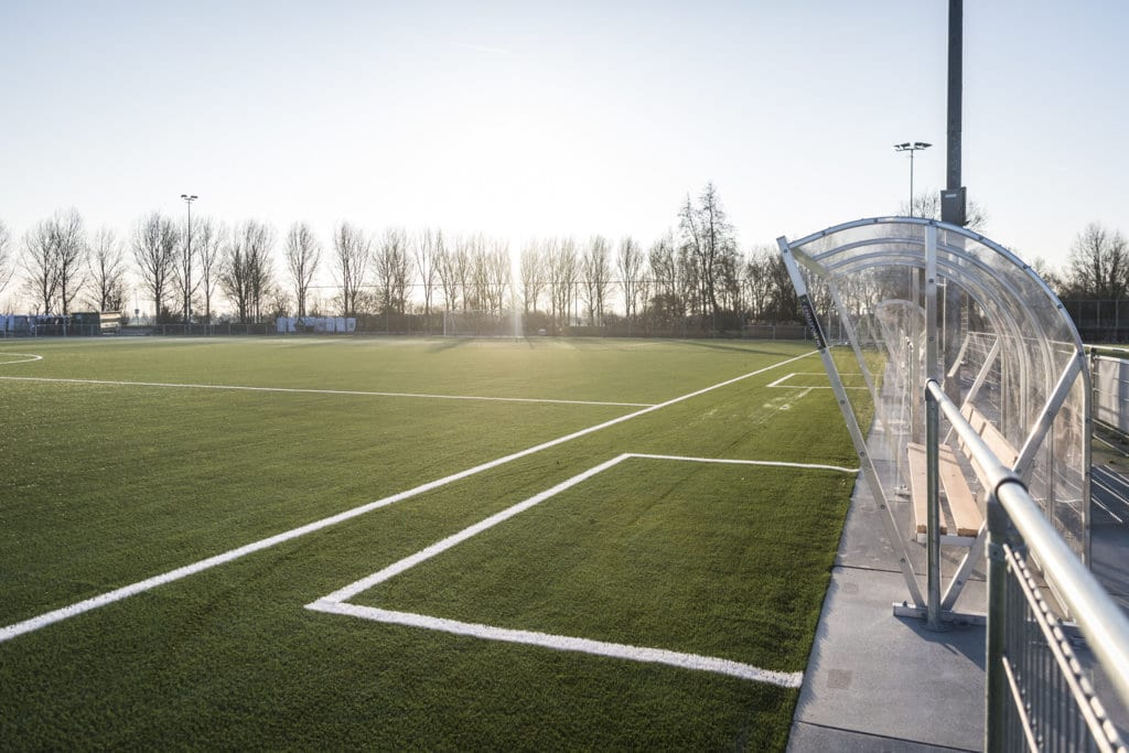 Kunstgras sportveld