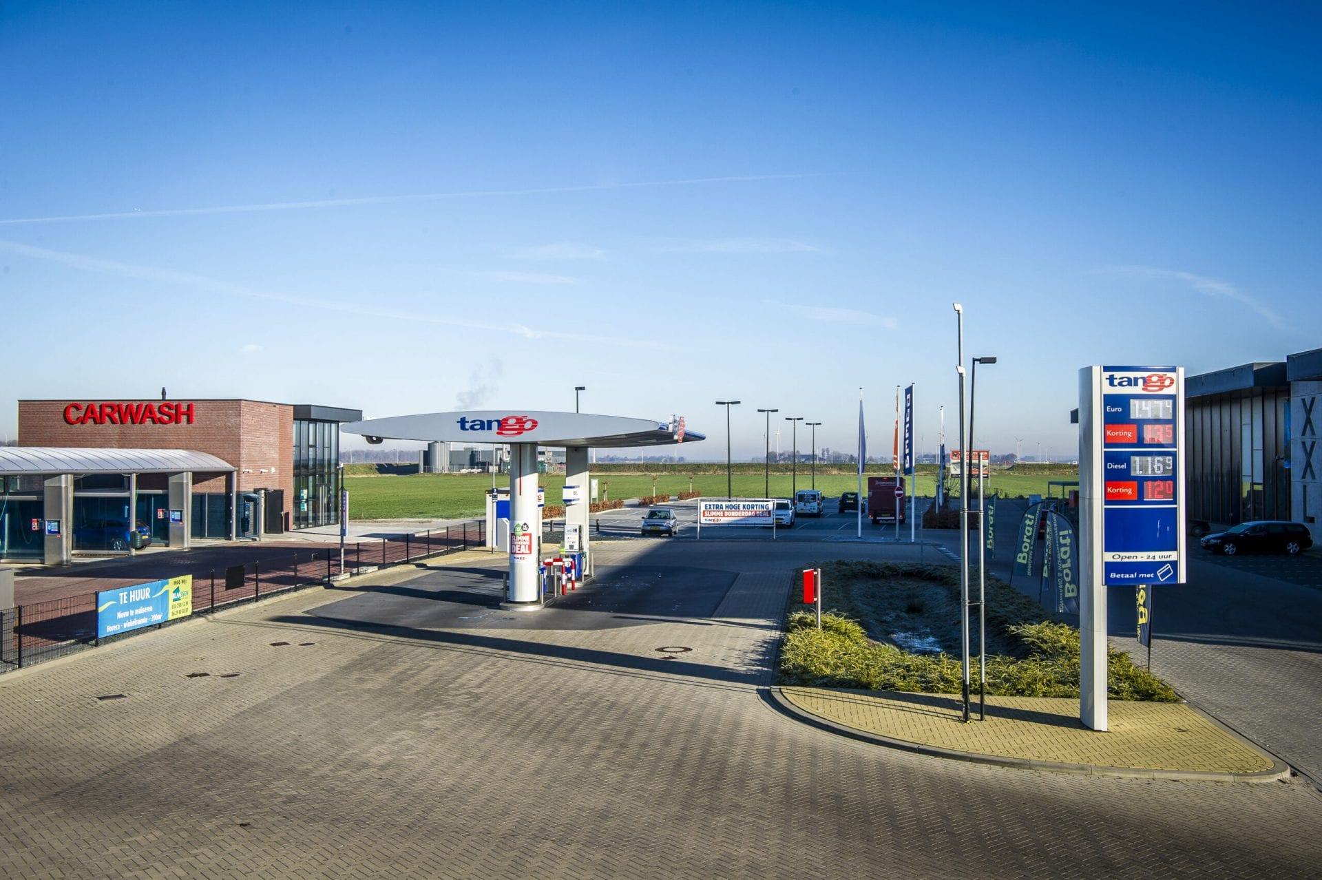 Milieutechnische projecten tankstation